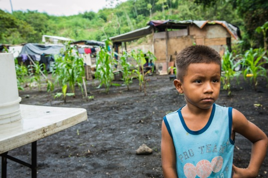 Young boy who lived in Kuna Nega, Panama. Copyright 2015, used with permission by Laura Pitcher