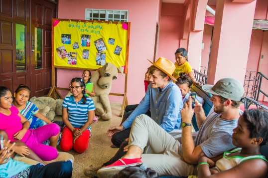 Orphanage in Panama. Copyright 2015, used with permission by Laura Pitcher