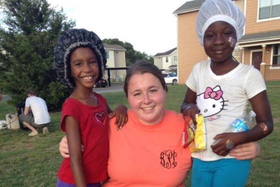 Kaitlyn in Dallas on a mission trip. Used with permission by Kaitlyn Palmer