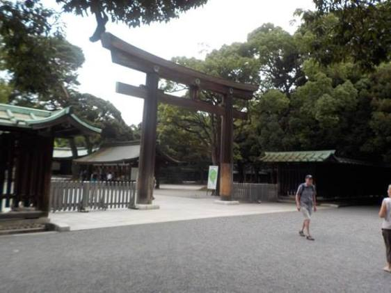 Shinto Temple. Copyright 2014, used with permission by Rebekah Lambert
